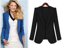 hot sell women Fashion show star coat of cultivate one's morality small suit  fashion girl's jackets
