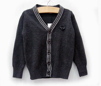 Retail New Arrivel Brand Boy's Autumn Pullovers Sweater/Kids Hoodies & Sweatshirts/Cute Baby Cardigan Sweater+Free Ship