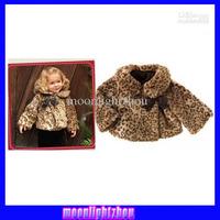 Baby Girls' coat kids children leopard tops outwear girls parkas Outwear 1123 B why