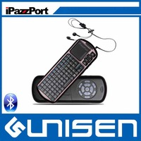 Free Shipping High Quality iPazzPort Mini Voice With IR Remote Bluetooth Keyboard For IPAD Supply By Factory