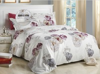 Free shipping,Printing Textile piece set bed sheets duvet cover cotton bedding 4 pcs Pure cotton jacquard bedding sets