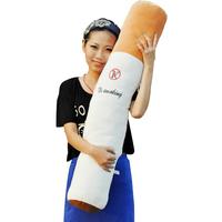 Large cylindrical cigarettes Smoking ban  plush toy pillow cushion Boyfriend  gift  110CM