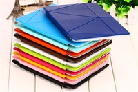 Free Shipping  Flip Stand Smart Case For iPad Air Cover Fashion Design Ultra thin Leather Cover For Apple iPad 5 ipad air Case