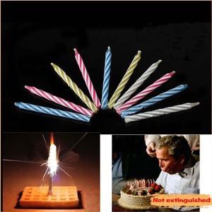 10PCS/Lot Not extinguished birthday c