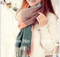 Winter  2013 classic style plaid scarves lady scarves autumn and winter warm scarf cashmere scarf free shipping