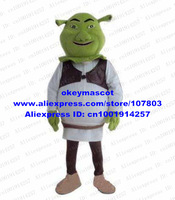 Shrek Mascot Costume Fancy Dress Cartoon Character Mascotte Mascota Outfit Suit No.3692 Free Ship