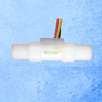 "USN-HS41TA Hall Water Flow Sensor 0.3-4L/Min BSP1/4"" Threaded Ends Exclusive Seller Ultisensor"
