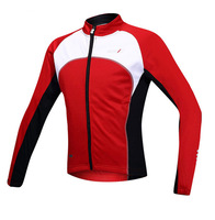 SANTIC Thicken Fleece Thermal Men's Winter Cycling Windproof Jacket Casual Coat Outdoor Sportwear Mountain Bike Jersey 2 Color