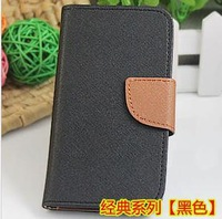 Hig quality  flip leather case for Huawei G700 classical two colors PU flop wallet case cover for Huawei