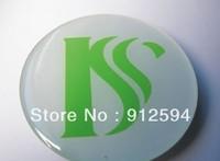 (ISC) logo custom epoxy self-adhesive sticker High quality label