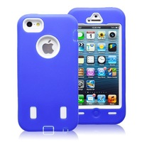 Silicone  robot  cellphone  case  for  iphone 5c