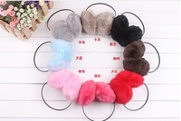 Big rabbit fur earmuffs ear package rack female  /free shipping