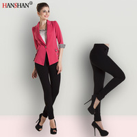 Autumn high-elastic slim pencil pants low-waist women's legging trousers