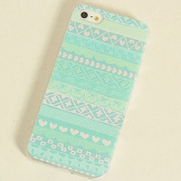 free shipping new fashion Bohemian style lovely hard case for apple iphone 5 5s 4 4s 4g elegant leather unique case