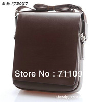 free shipping Authentic brand composite leather men's bags business casual shoulder inclined shoulder bag man bags briefcases