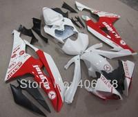 Free shipping,Yzf 600 R6 08-13 ABS motoFairing fit for Yamaha Yzf R6 2008-2013 Race Bike Jordan fairing kits (Injection molding)
