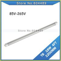 20pcs/lot 18W T8 LED Bulbs tubes 4FT 1200MM led lighting lamp G13 White/warm white AC110V 120V 220V 230V 240V wholesale