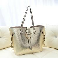 New 2013 fashion simple handbag large bag picture bag Shoulder Messenger Handbag women messenger bag