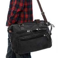 Male 2013 cross-body bags one shoulder handbag casual canvas bag travel bag student bag