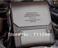 [Free Shipping] 2013 fashion men shoulder bag genuine leather business bags high quality messenger bag M001