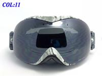 Free Shipping Snowboard Ski Goggles UV Double Lens UV-Protection Anti-Fog Skiing Glasses Winter Myopia Goggles Christmas Gift 11