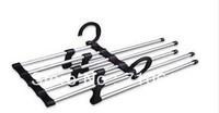 FEDEX Free Shipping100PCS/LOT We Best, Magic Trousers Hanger/Metal Rack Multifunction Pants Hanger