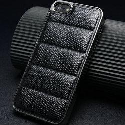 Motif serpent quatrième de couverture pour iphone5 5g avec un luxe de galvanoplastie cadre étui rigide pour iphone5s + free screen protector comme cadeau
