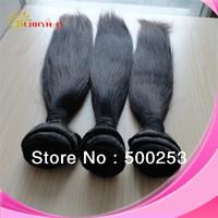 Sunnymay Brazilian Virgin Hair Straight Brazilian Virgin Hair Cheap High Quality Thick Human Hair Weave Straight