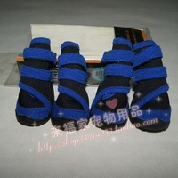 Free shipping Mr wellsore shoes slip-resistant submersible waterproof fabric dog shoes wellsore