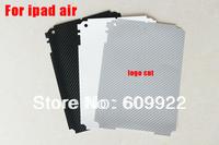 For Ipad air back Guard Vinyl Carbon Fiber Sticker For Ipad air 5  Tablet Decal 5pcs/lot