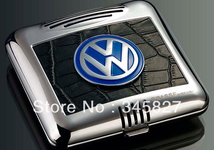 Couro Perfume Car assento Box Para Volkswagen Passat CC LAVIDA Golf Scirocco Polo Beetle Touareg Tiguan(China (Mainland))