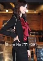 Core autumn  NEW ARRIVAL  women's elegant plus size long-sleeve short jacket casual blazer
