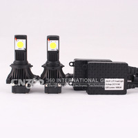 1800 lumen headlight LED 9006 CREE CXA1512 chips LED headlights for auto led headlamp