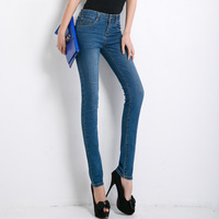 2014 Spring pencil pants sexy butt-lifting skinny jeans female