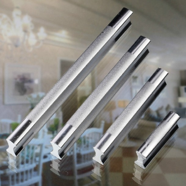 "Aluminium Cabinet Cupboard Kitchen Door Drawer Pulls Handle 1.26"" 32mm"