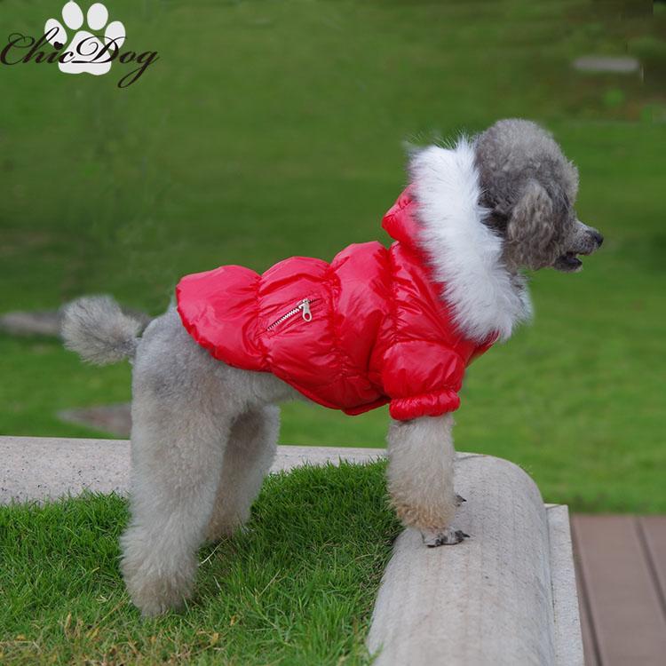 pet roupas de natal pet cão roupas outono e inverno de pelúcia vip inverno wadded jaqueta impermeável pet fornecimentos(China (Mainland))