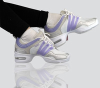 Elevator gauze fitness shoes dance shoes modern dance shoes breathable air cushion square dance shoes