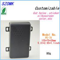 1   piece  (135*75*28mm 5.31*2.95*1.1inch  ) plastic box electronics