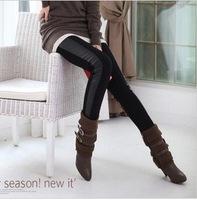 продажи! Корейская женщин/леди сексуальная мода тонкий красочный полосатый леггинсы брюки w3288