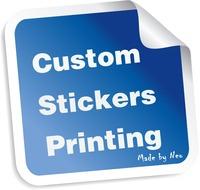 Good quality self adhesive custom stickers printing