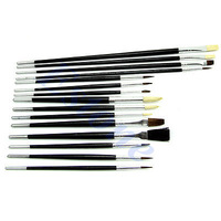 D1915pcs/set All Purpose Paint Brushes For Acrylic Oil Watercolors Art Supply Painting