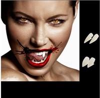 Gift 4 PCS Hot Fancy Vampire Denture Teeth Fangs Gothic Party Halloween Costume