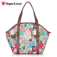 Free shipping lace women's handbag national trend print bags casual shoulder bag handbag