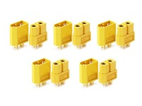 5 PAIRS XT60 XT-60 Male Female Bullet Connectors Plugs for RC Lipo Battery