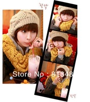 Free Shipping New Handmade Fashion Warm Winter Women's Beret Kintted Hat