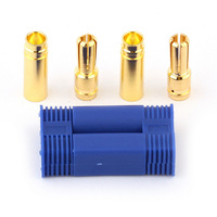 5 PAIRS EC5 Banana Plug Female Male Bullet Gold Connector RC ESC LIPO Battery Motor