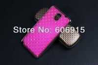 200pcs/lot Luxury Bling Diamond Crystal Star Plated Hard Case Cover For Samsung Galaxy Note 3 Note3 N9000