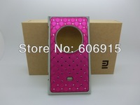 Retail 2pcs/lot Luxury Bling Diamond Crystal Star Plated Hard Case Cover For Nokia Lumia 1020