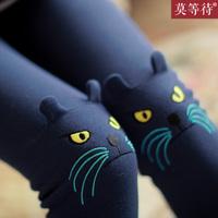 Free shipping / hot sale / wholesale Plus velvet thickening kitten legging autumn and winter female trousers autumn warm pants