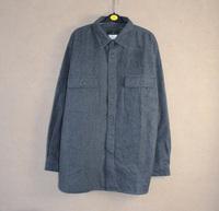 Male fleece shirt thermal shirt long-sleeve loose plus size casual woolen sanded thick L-XXXL Shirt men